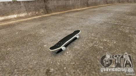 Скейтборд №4 для GTA 4 вид слева