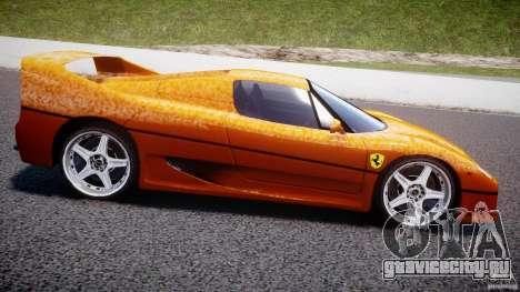 Ferrari F50 для GTA 4 вид слева
