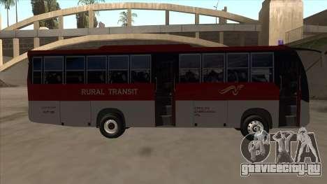 Rural Transit 10206 для GTA San Andreas вид сзади слева