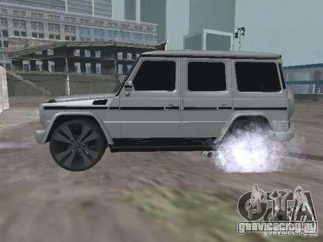 Mercedes-Benz G500 Kromma 1480 для GTA San Andreas вид слева