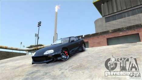 Toyota Supra RZ 1998 v 2.0 для GTA 4 вид сзади