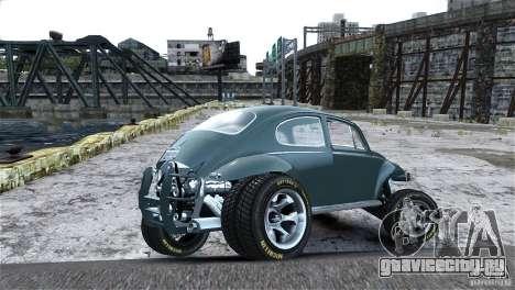 Baja Volkswagen Beetle V8 для GTA 4 вид сбоку