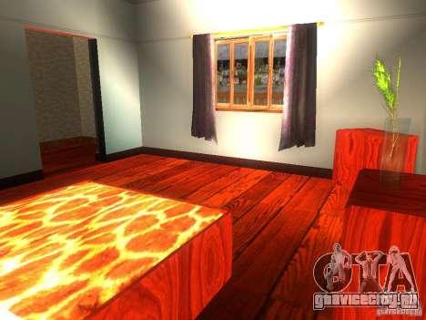 Новый Дом CJ для GTA San Andreas восьмой скриншот