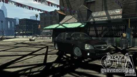 Ваз 2172 Приора Люкс для GTA 4