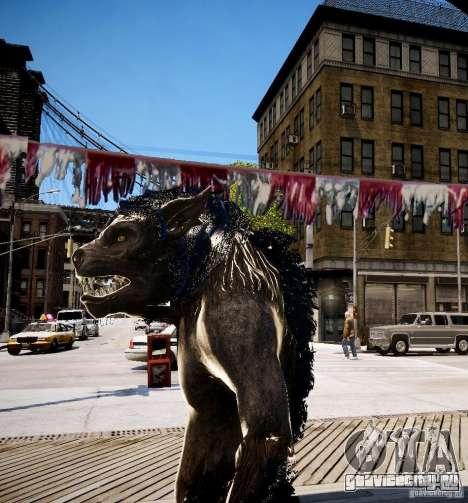 Werewolf from Skyrim для GTA 4 третий скриншот