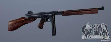 M1 (пистолет-пулемет Томсона) (v1.1) для GTA Vice City третий скриншот