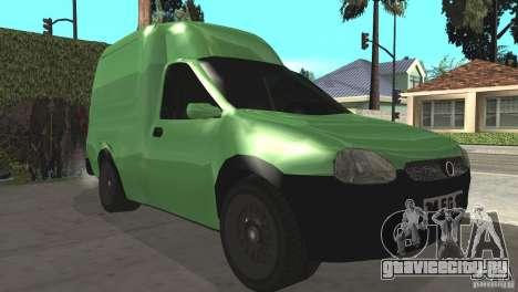 Opel Combo 1.4 для GTA San Andreas вид слева