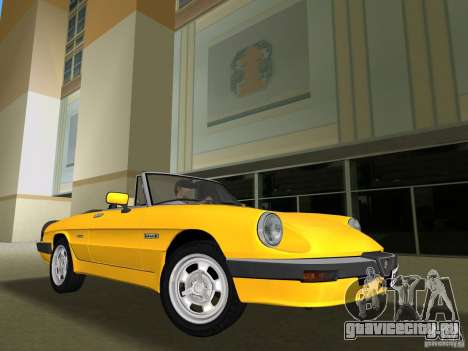Alfa Romeo Spider 1986 для GTA Vice City