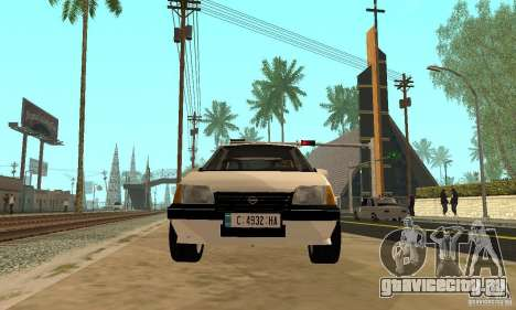 Opel Kadett E для GTA San Andreas вид справа