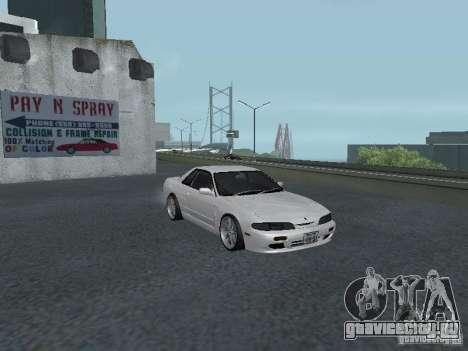 Nissan Skyline R32 Zenki для GTA San Andreas вид изнутри