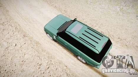 Range Rover Vogue для GTA 4 салон