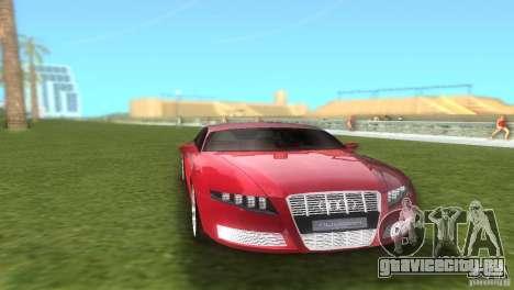 Audi Nuvolari Quattro для GTA Vice City вид сзади