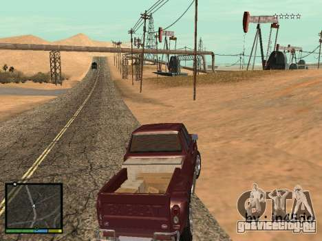GTA V Interface for Samp для GTA San Andreas