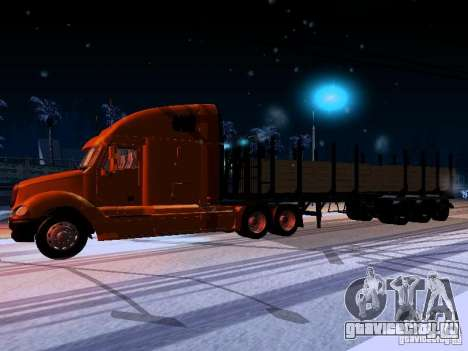 Freightliner Columbia для GTA San Andreas вид слева