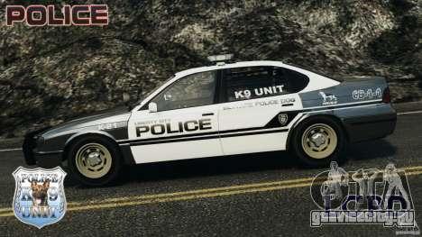 LCPD K9 Unit для GTA 4 вид слева