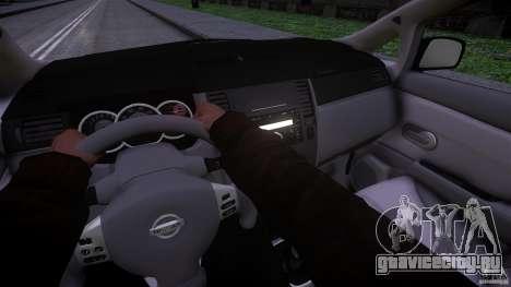 Nissan Versa для GTA 4 вид сзади