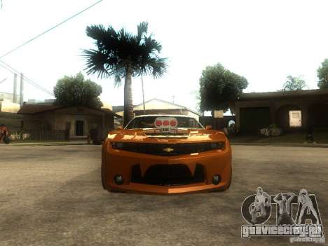 Chevrolet Camaro SS Dark Custom Tuning для GTA San Andreas вид справа