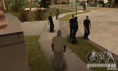 Cop Homies для GTA San Andreas второй скриншот