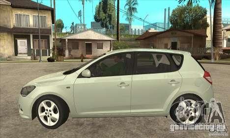 Kia Ceed 2011 для GTA San Andreas вид слева