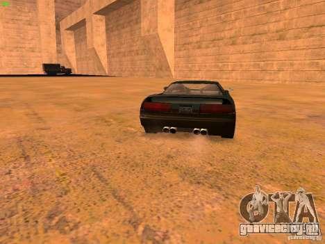 Infernus Revolution для GTA San Andreas салон