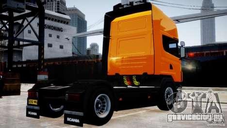 Scania R500 для GTA 4 вид справа