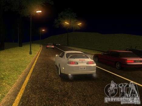ENBSeries 0.075 для слабых ПК для GTA San Andreas третий скриншот