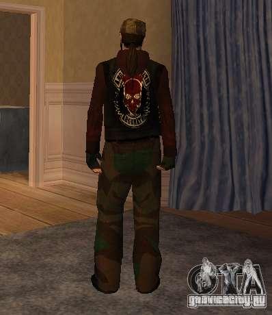 Новые скины Байкеров для GTA San Andreas второй скриншот
