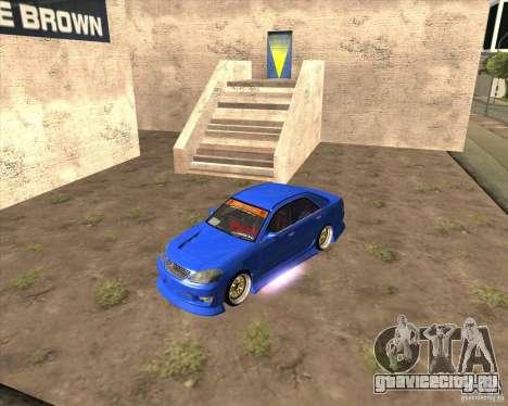 Toyota JZX110 make 2 для GTA San Andreas