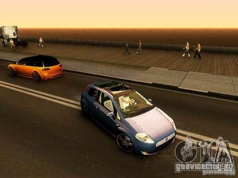 Fiat Punto Multijet для GTA San Andreas вид слева