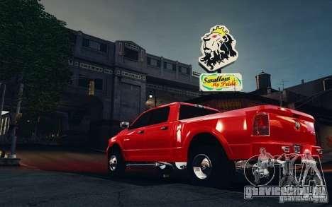 Dodge Ram 3500 Stock Final для GTA 4 вид сзади слева