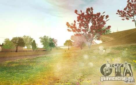Project Oblivion 2010 Sunny Summer для GTA San Andreas
