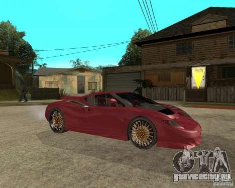 B-Engineering Edonis для GTA San Andreas вид справа