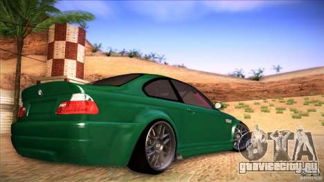 BMW E46 Drift II для GTA San Andreas вид слева