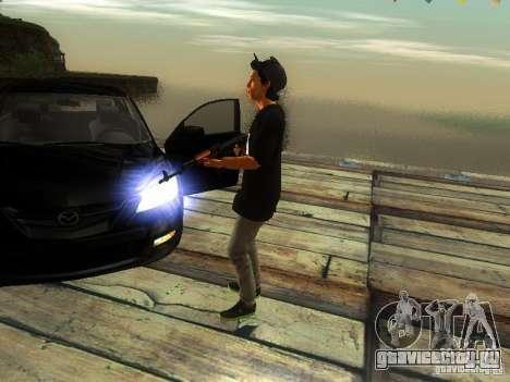 Пацан в FBI для GTA San Andreas третий скриншот