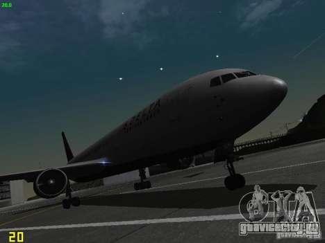 Boeing 767-400ER Delta Airlines для GTA San Andreas