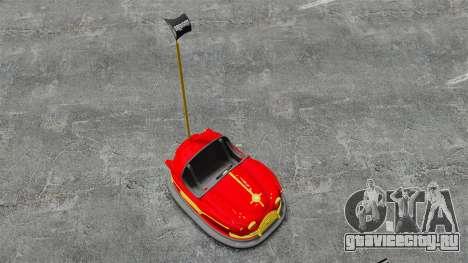 Бамперная машинка для GTA 4 вид справа