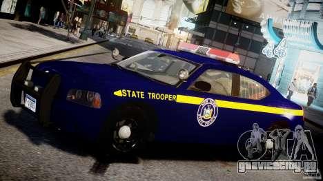 Dodge Charger NY State Trooper CHGR-V2.1M [ELS] для GTA 4