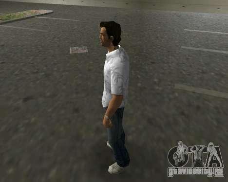 Белая рубашка для GTA Vice City второй скриншот