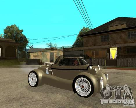 Messerschmitt GT500 Tiger Hard tuned для GTA San Andreas вид справа