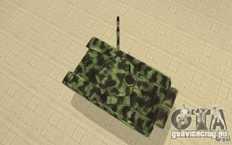 Танк T-72 для GTA San Andreas вид справа