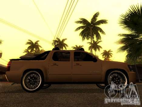 Chevrolet Avalanche Tuning для GTA San Andreas вид справа