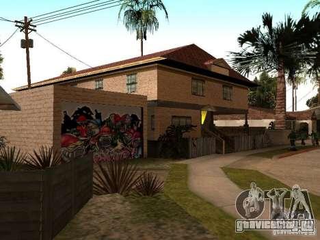 Новый дом СиДжея для GTA San Andreas третий скриншот