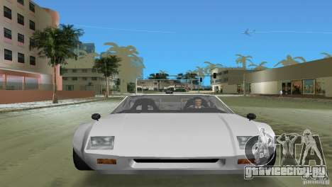 De Tomaso Pantera для GTA Vice City вид сзади слева