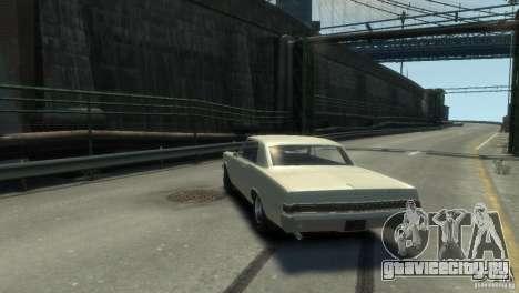 Pontiac GTO 1965 для GTA 4 вид справа