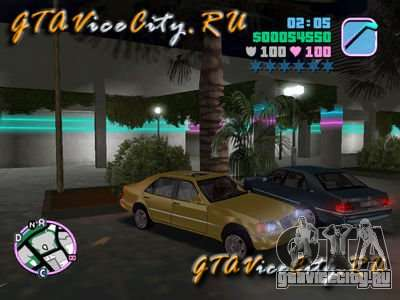 Mercedes-Benz S600 W140 для GTA Vice City