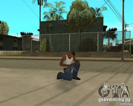 Оружия из STALKERa для GTA San Andreas восьмой скриншот
