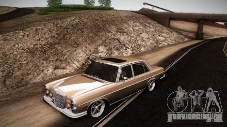 Mercedes Benz 300 SEL - Custom RC3D Edit для GTA San Andreas вид слева