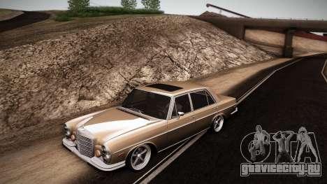 Mercedes Benz 300 SEL - Custom RC3D Edit для GTA San Andreas вид слева