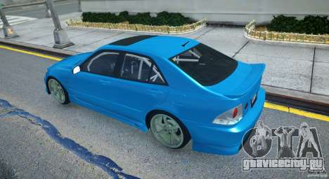 Toyota Altezza для GTA 4 вид справа