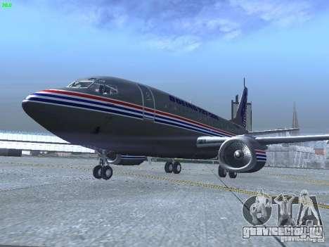 Boeing 737-500 для GTA San Andreas вид слева
